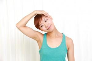 Nackenmuskeln dehnen